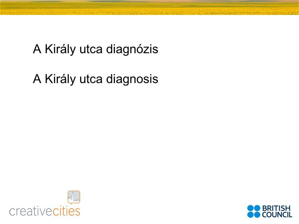 A Király utca diagnózis A Király utca diagnosis