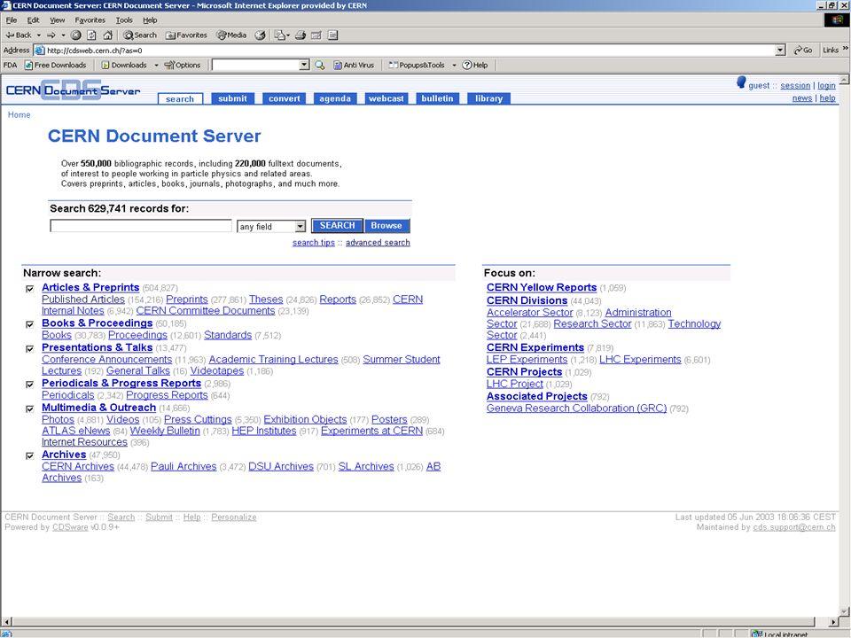 13/17 CERN Document Server