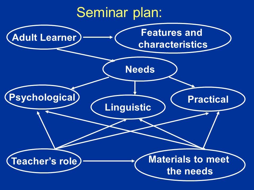 Questions: Who we teach? What we teach? Why we teach / they learn? How we teach?