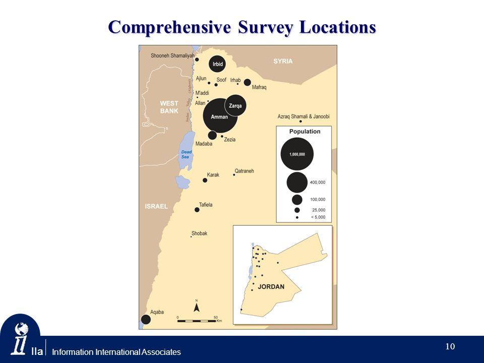IIa Information International Associates Comprehensive Survey Locations 10