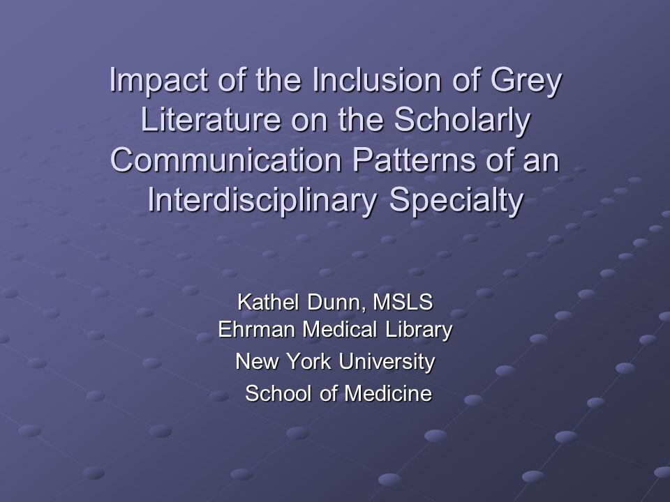 Ehrman Medical Library New York University Medical Center Results