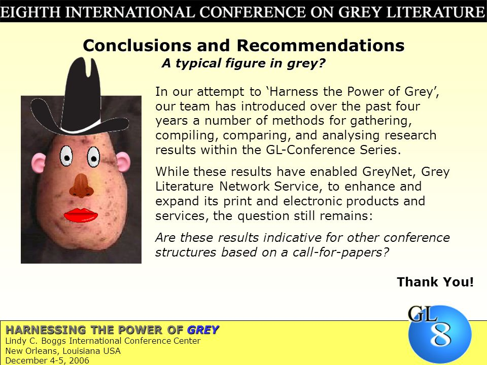 12 HARNESSING THE POWER OF GREY Lindy C.