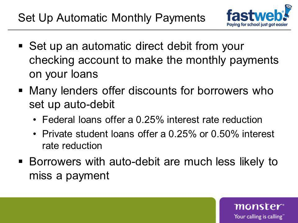 Accelerate High Interest Debt First Student loans do not have prepayment penalties After you make the requirement payments, direct any extra money toward accelerating repayment of the most expensive debt first The most expensive debt is the debt with the highest interest rate, not the lowest monthly payment, usually credit cards and private loans Paying an extra $100 on a 10% loan is like earning 10% interest, tax-free, and may save you more than $200 over the life of the loan