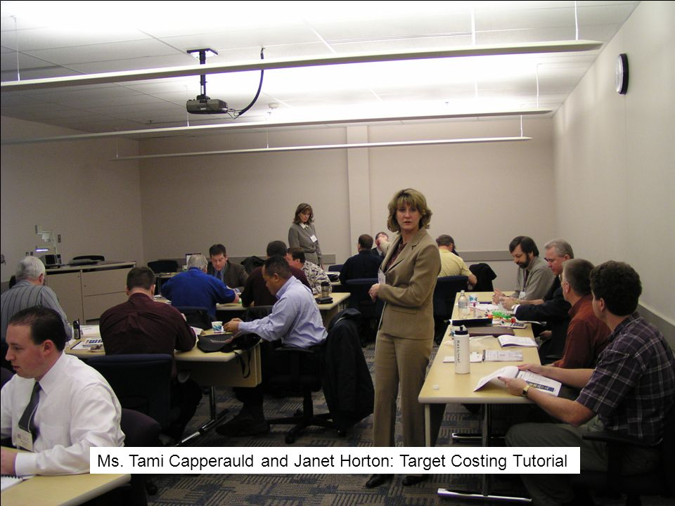 Ms. Tami Capperauld and Janet Horton: Target Costing Tutorial