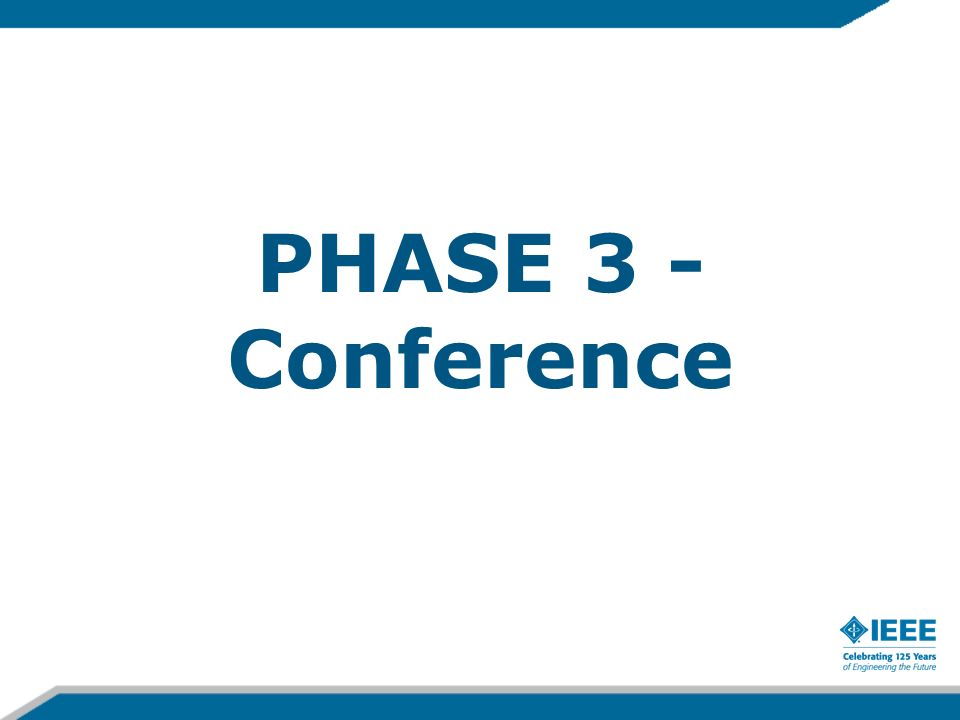 PHASE 3 - Conference
