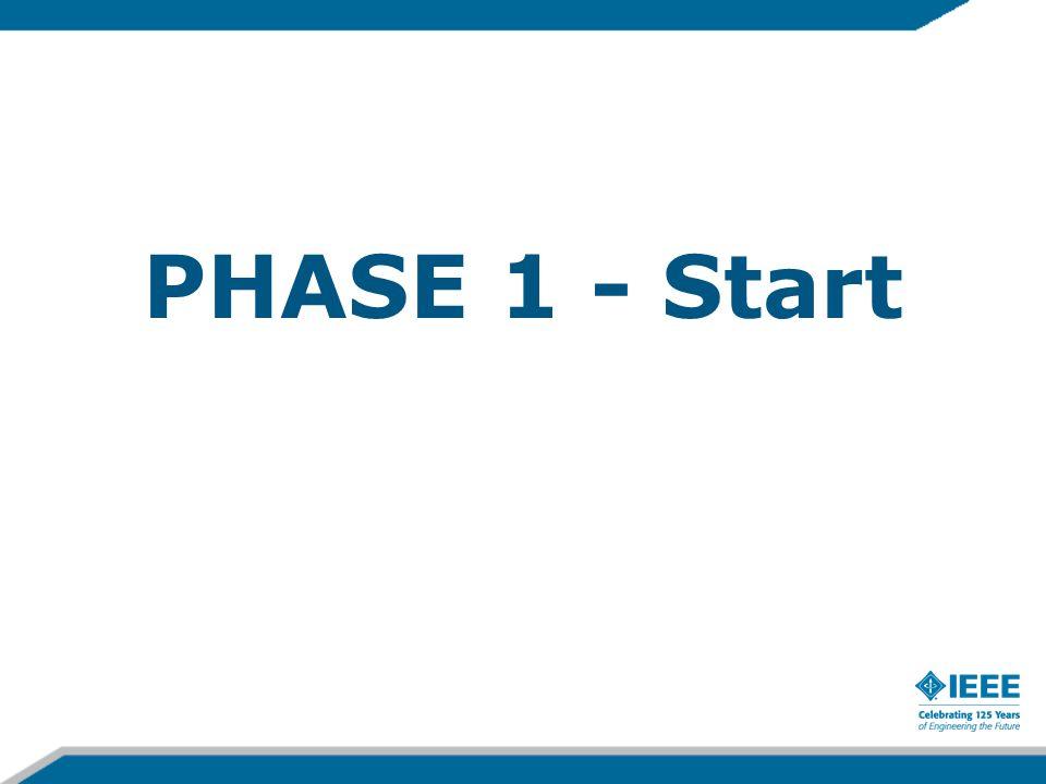 PHASE 1 - Start