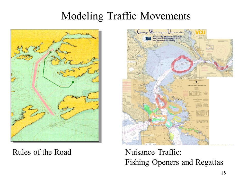 18 Modeling Traffic Movements Nuisance Traffic: Fishing Openers and Regattas Rules of the Road