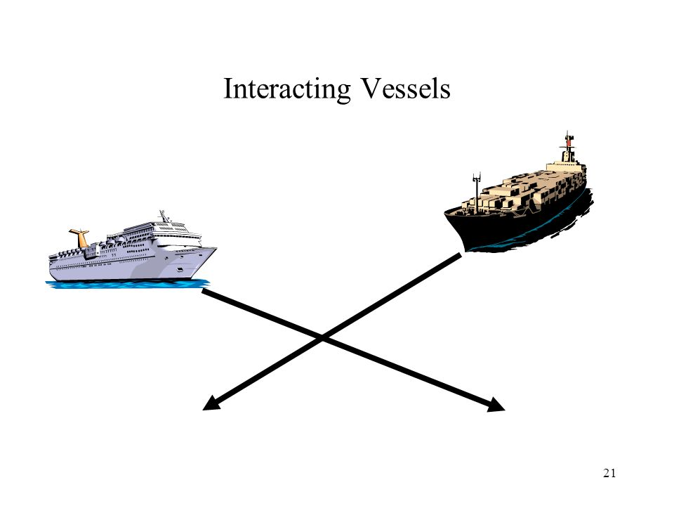 21 Interacting Vessels