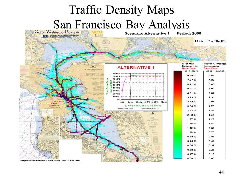 40 Traffic Density Maps San Francisco Bay Analysis