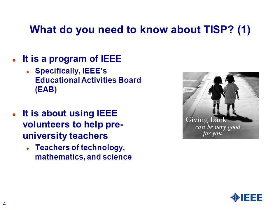4 What do you need to know about TISP.
