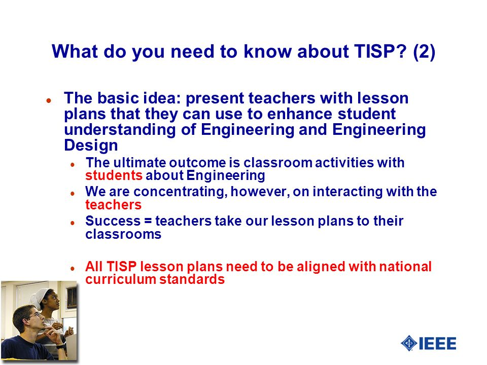 5 What do you need to know about TISP.