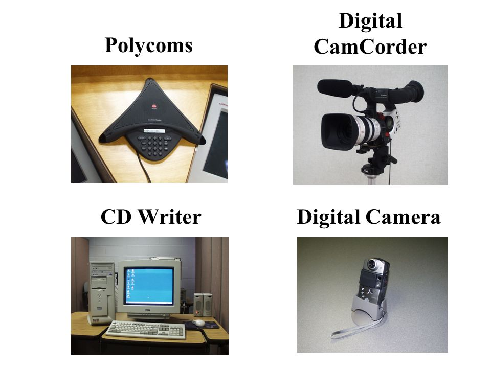 Polycoms Digital CamCorder CD WriterDigital Camera