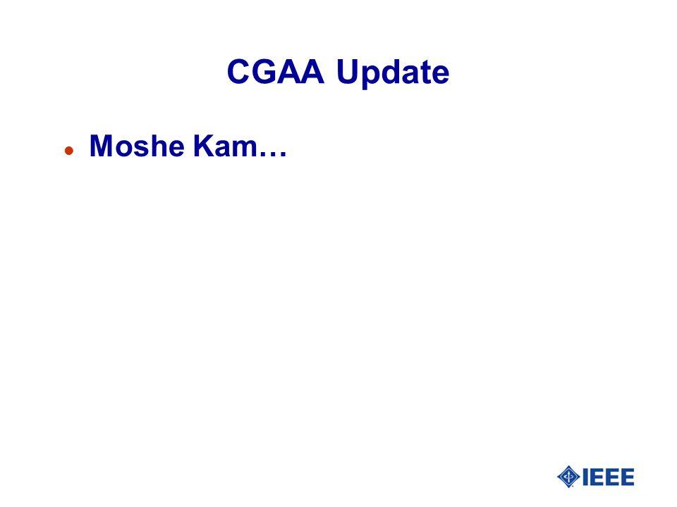 CGAA Update l Moshe Kam…