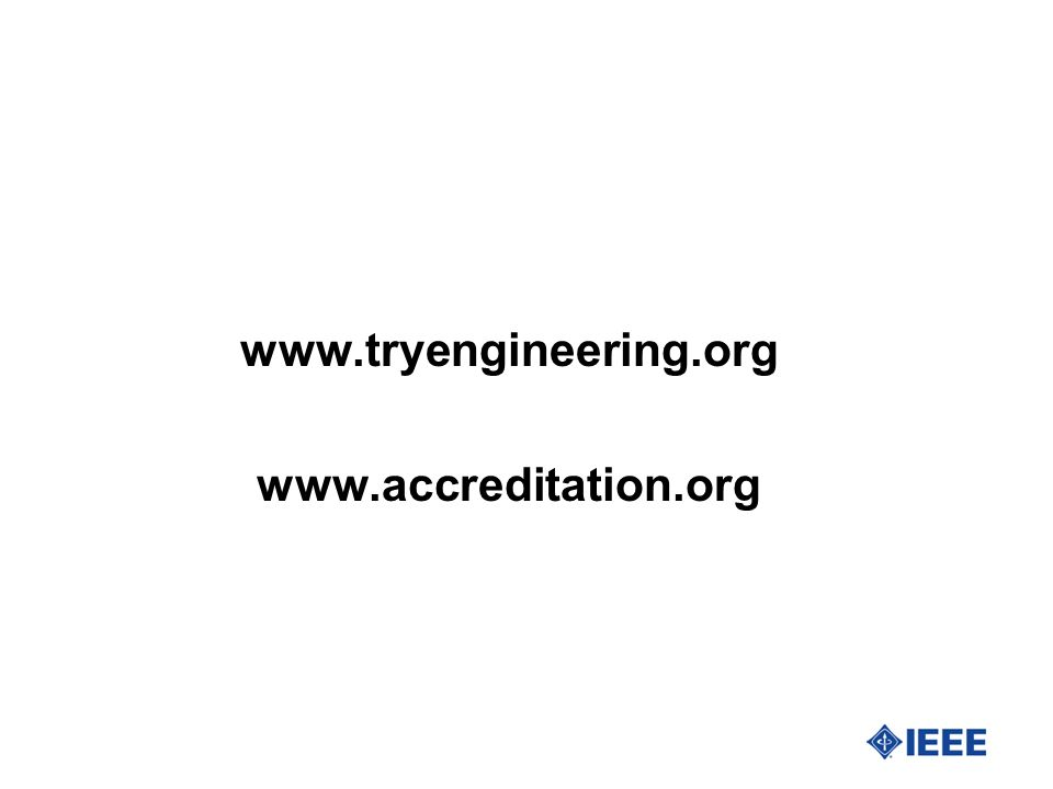 www.tryengineering.org www.accreditation.org