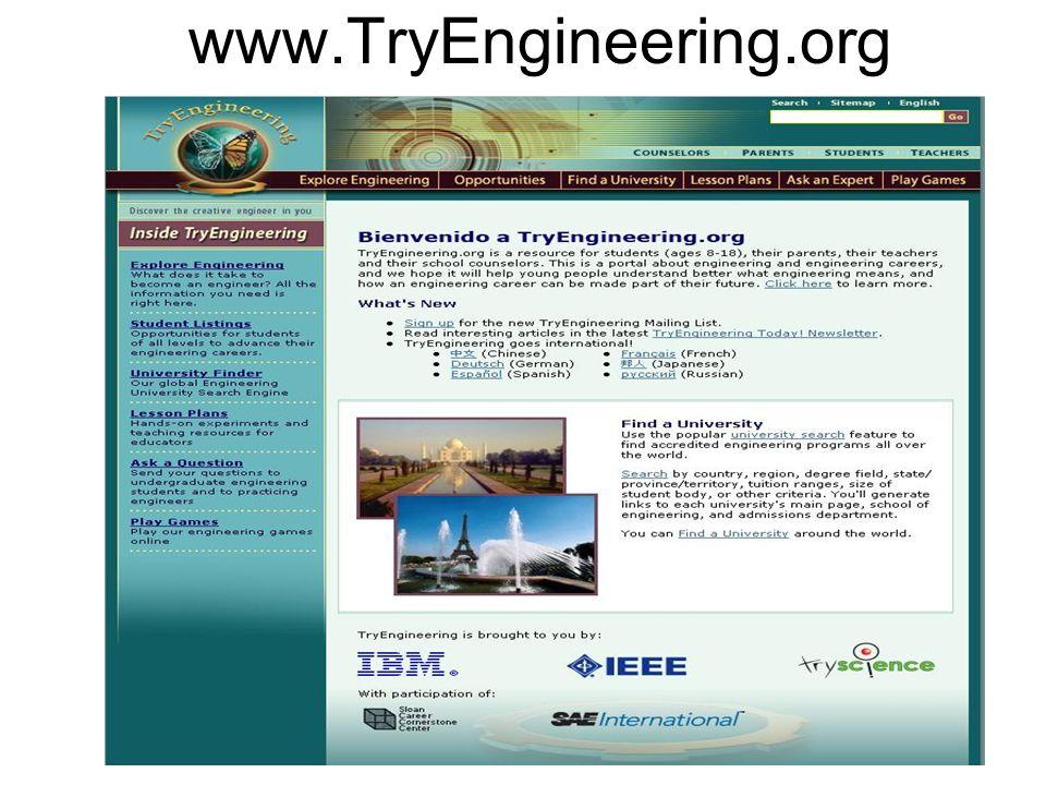 www.TryEngineering.org