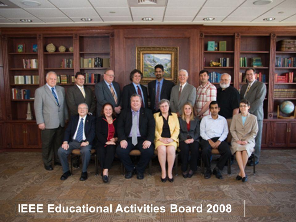 13 IEEE Educational Activities Board 2008