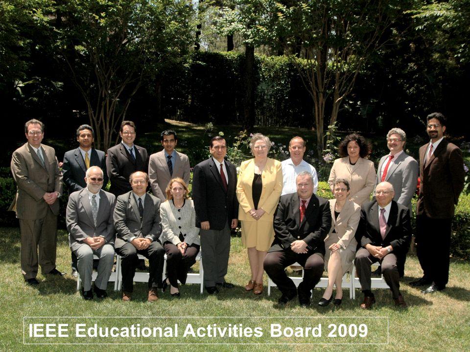14 IEEE Educational Activities Board 2009