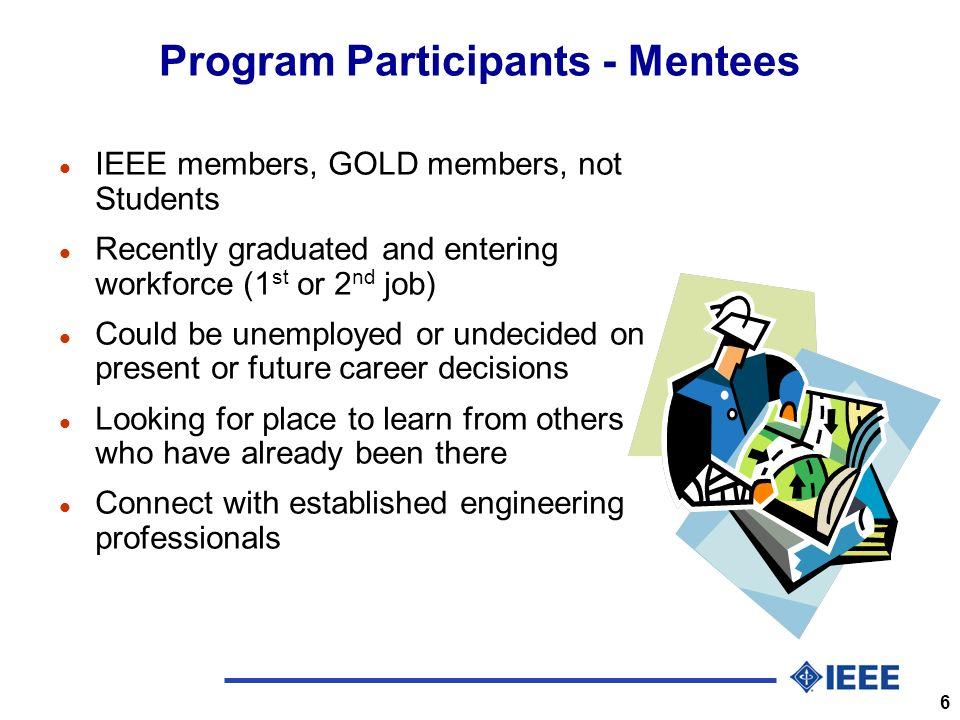 7 Mentoring Pilot Project l Vendor: The Training Connection, Inc.