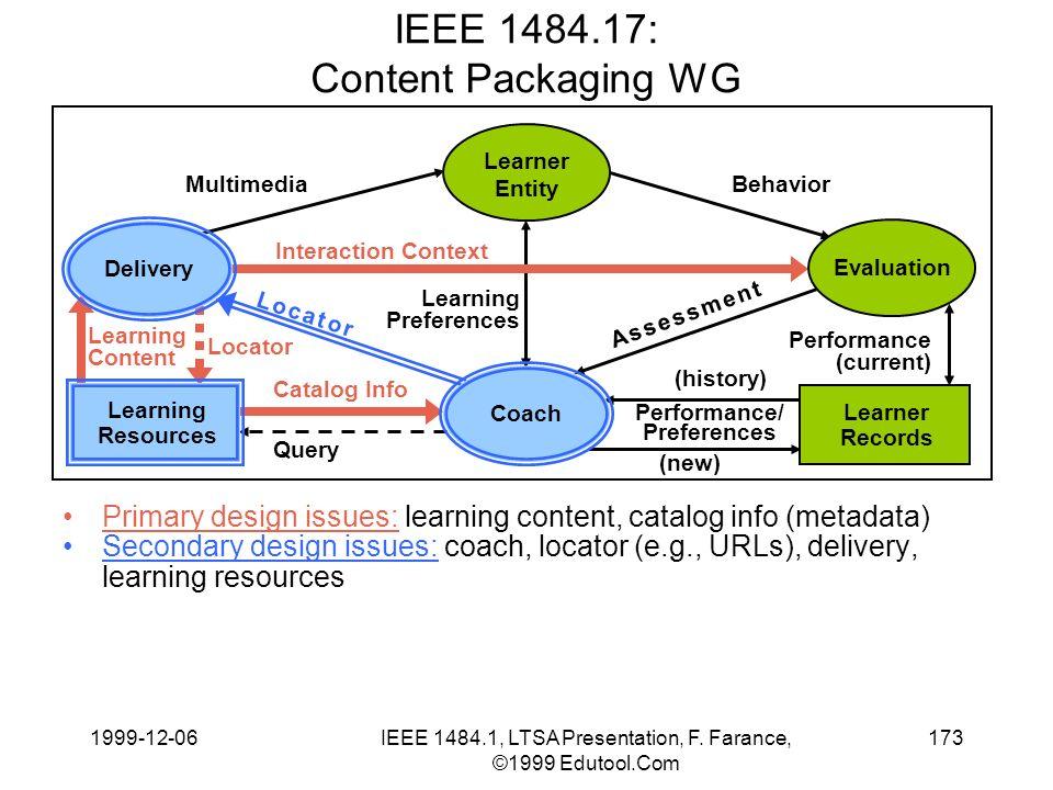 1999-12-06IEEE 1484.1, LTSA Presentation, F.