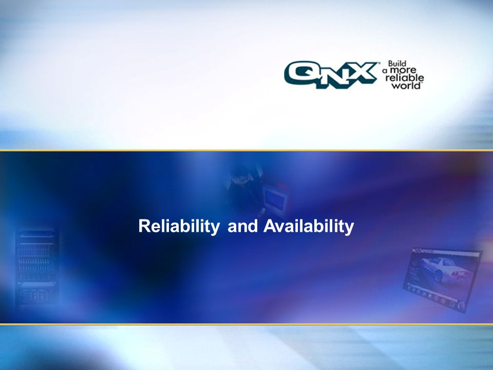 49 Title of presentation Title 2 Reliability and Availability