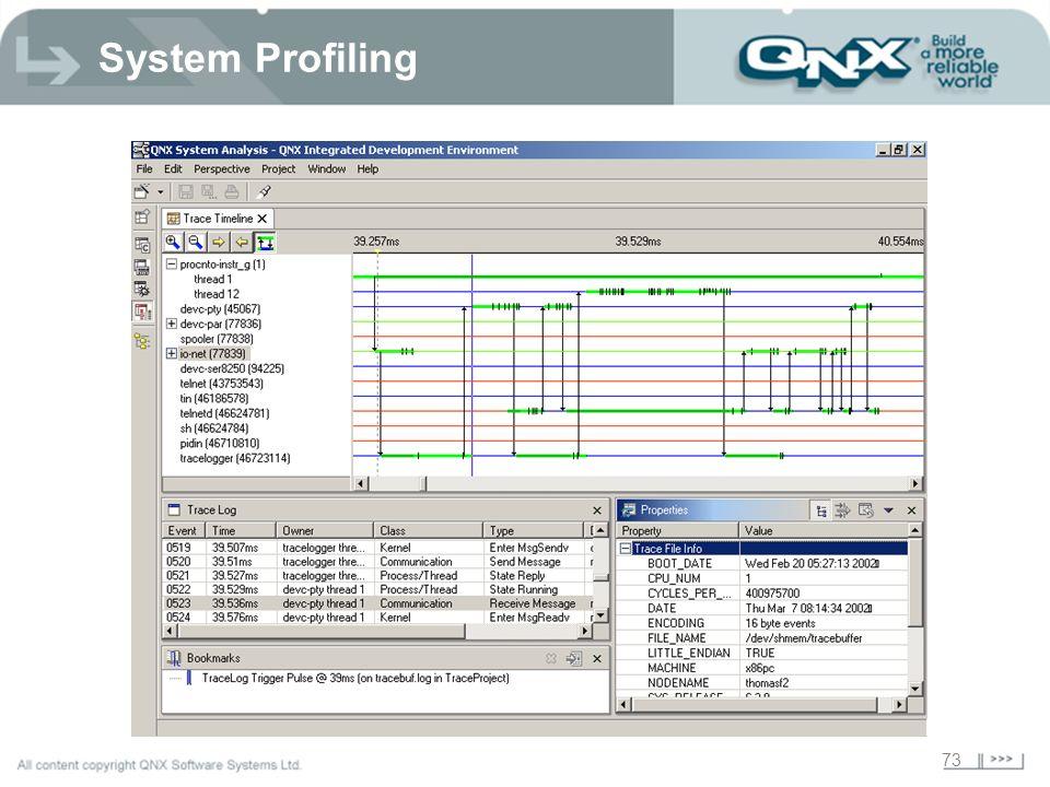 73 System Profiling
