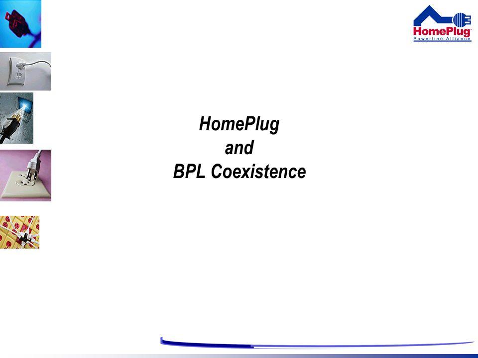 HomePlug and BPL Coexistence