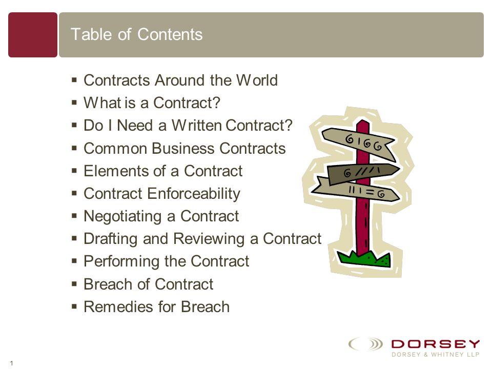 Basics of U.S. Contract Law David J. Mack Dorsey & Whitney LLP 51 West 52nd Street New York, New York 10019 P:212.415.9200 F:646.390.6575 http://www.d