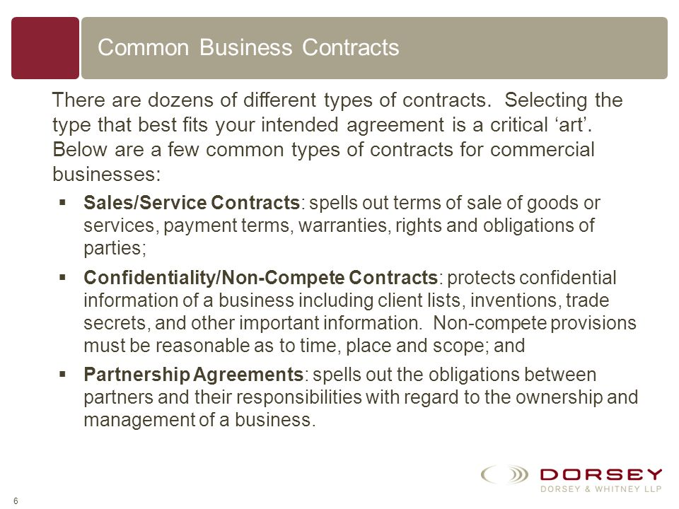 5 Do I Need a Written Contract? (1) the amount of money involved, (2) the value of the products or services involved, (3)the duration of the contract,