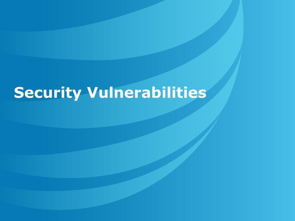 © AT&T Inc Security Vulnerabilities