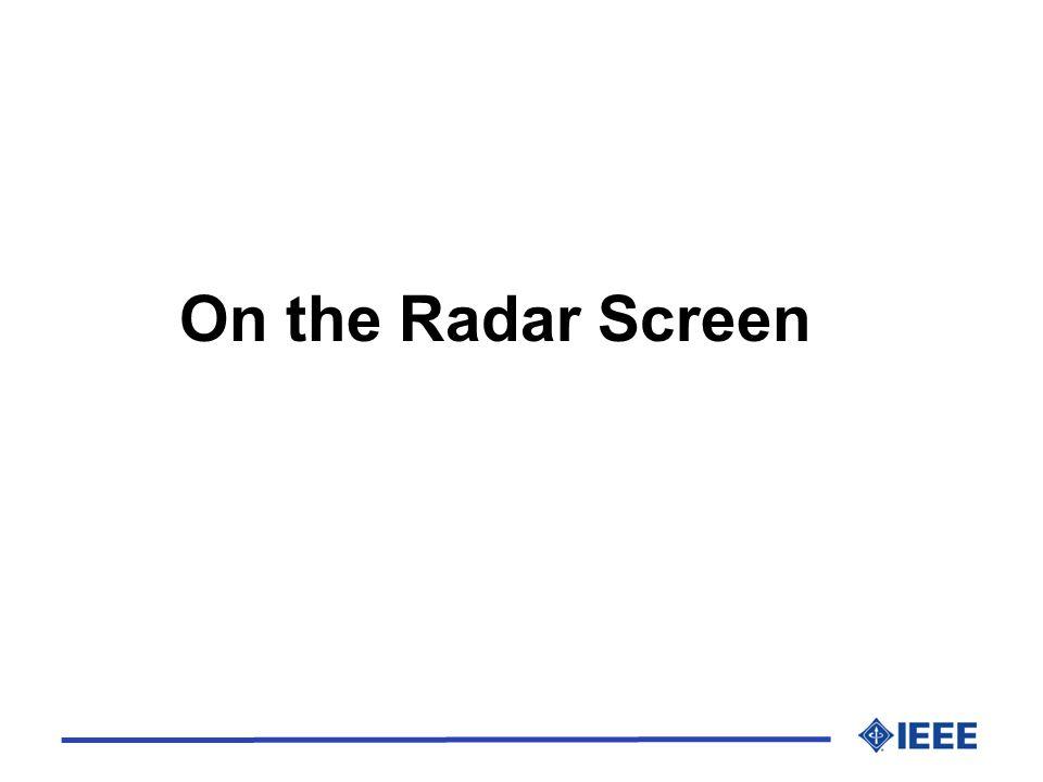 On the Radar Screen