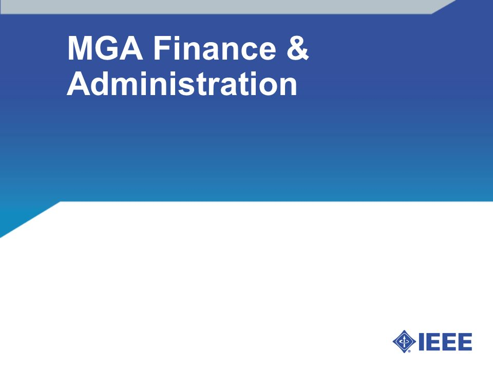 MGA Finance & Administration