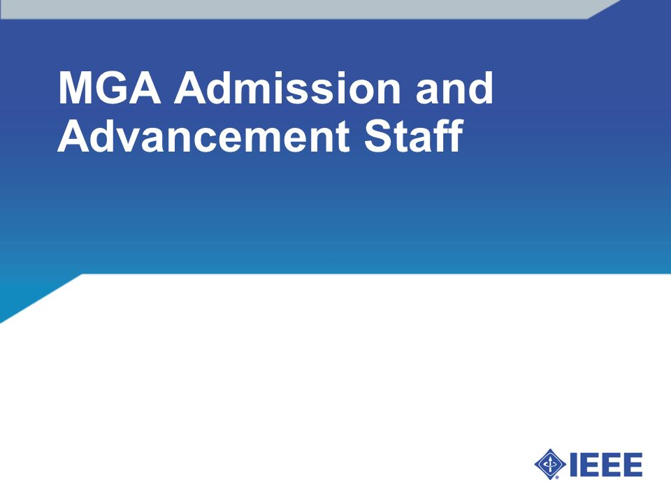 MGA Admission and Advancement Staff