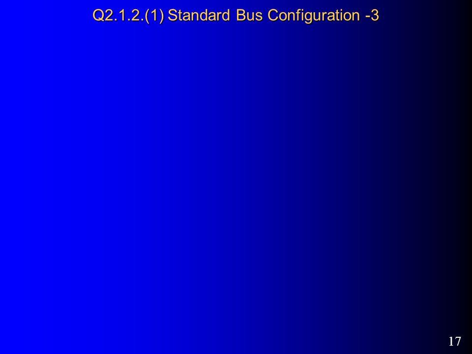 17 Q2.1.2.(1) Standard Bus Configuration -3