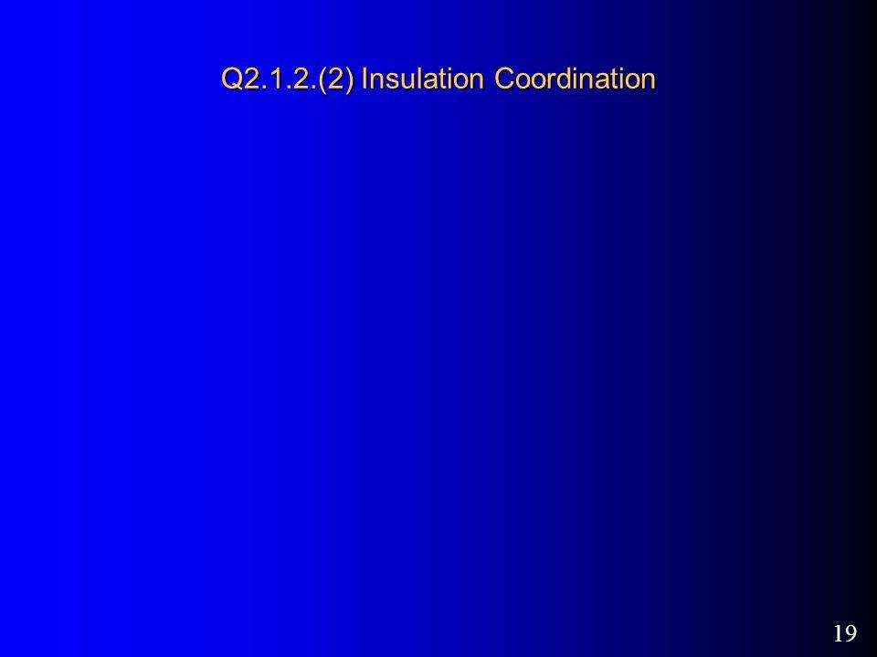 19 Q2.1.2.(2) Insulation Coordination