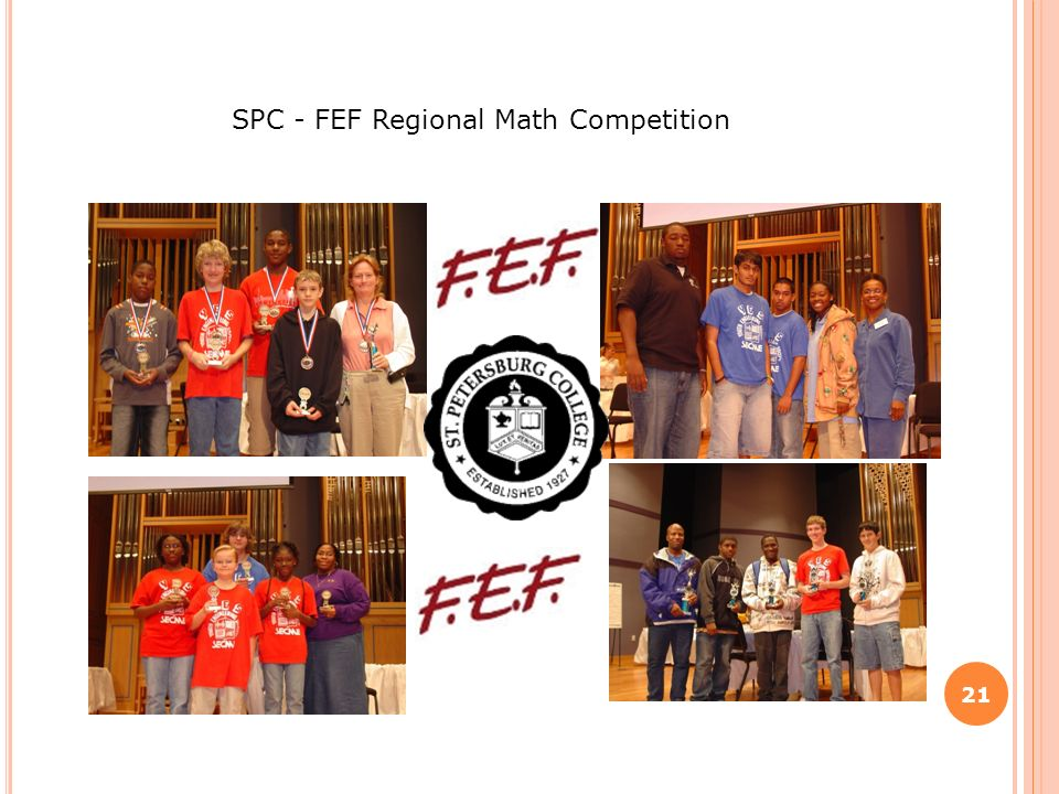 21 SPC - FEF Regional Math Competition