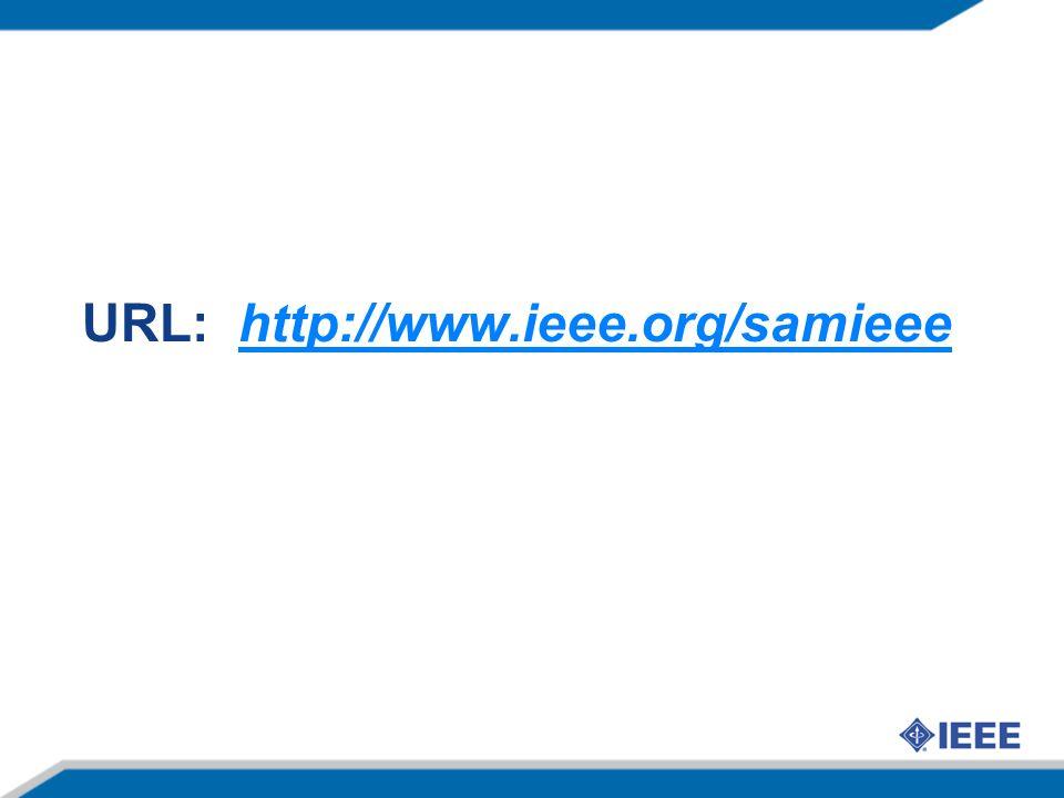 URL: http://www.ieee.org/samieeehttp://www.ieee.org/samieee
