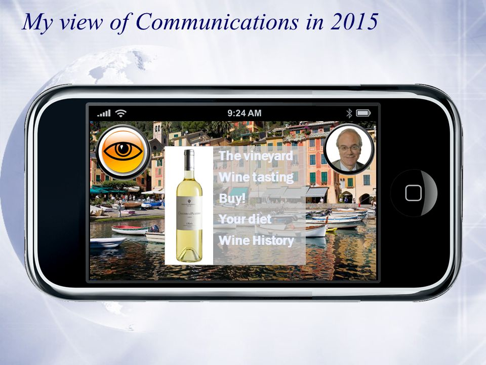 The vineyard Wine tasting Buy! Your diet Wine History My view of Communications in 2015