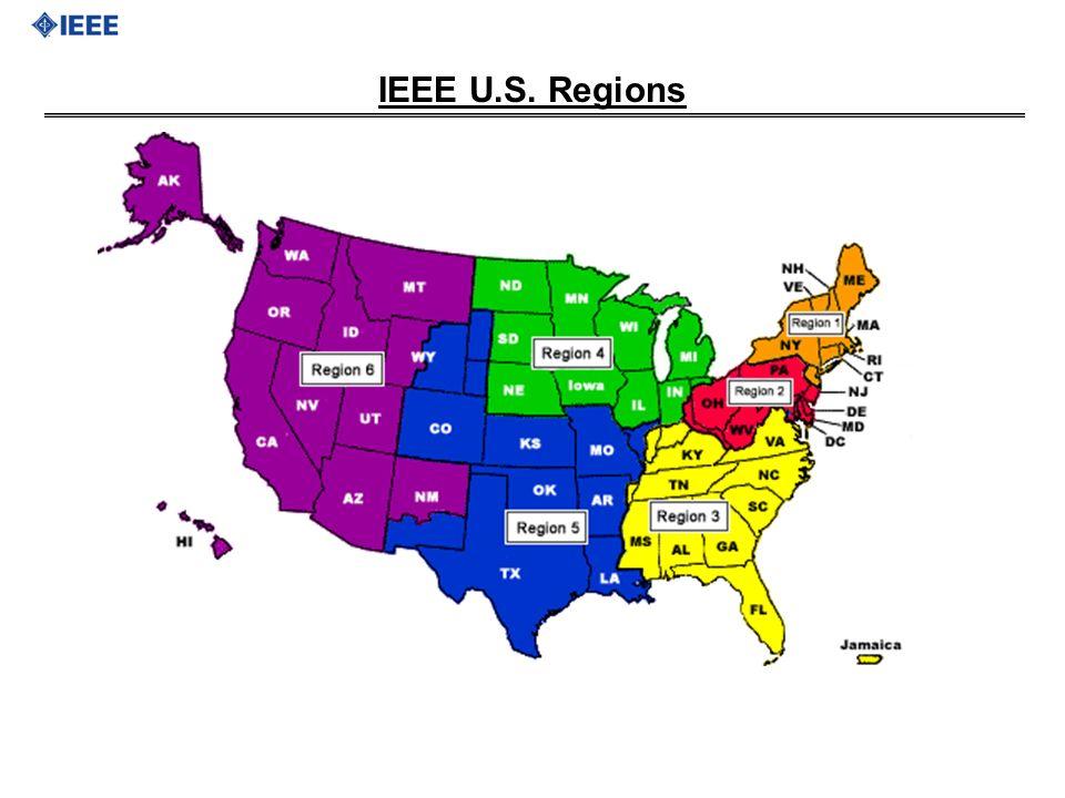 IEEE U.S. Regions