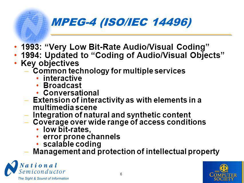 MPEG-21 Part 7 Digital Item Adaptation DIA