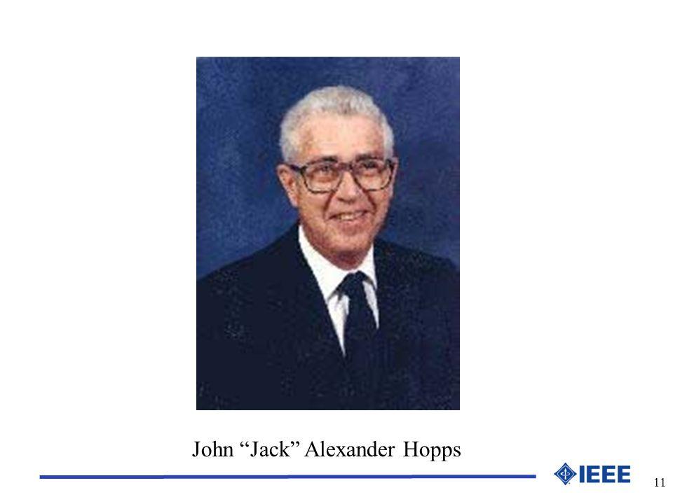 11 John Jack Alexander Hopps
