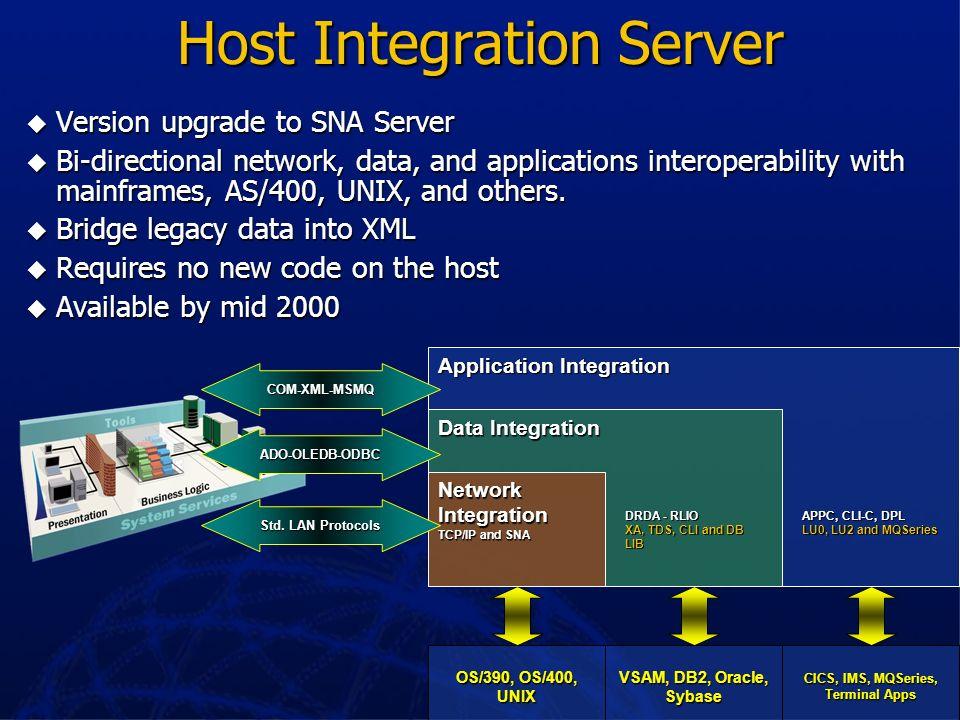 Microsoft Data Engine (MSDE) SQL Server 7.0 data engine SQL Server 7.0 data engine Full function and fully compatible with SQL Server 7.0 – same code