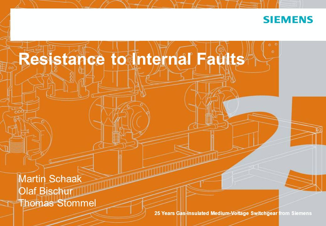 Power Transmission and Distribution © Siemens AG 2006 Page 2 June 07 Medium Voltage Division Topics Resistance to internal faults Causes and physical effects Basic standard IEC 62271-200 Test object NXPLUS C Live test Analysis and review Open questions