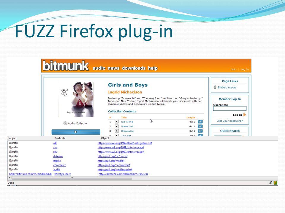 FUZZ Firefox plug-in