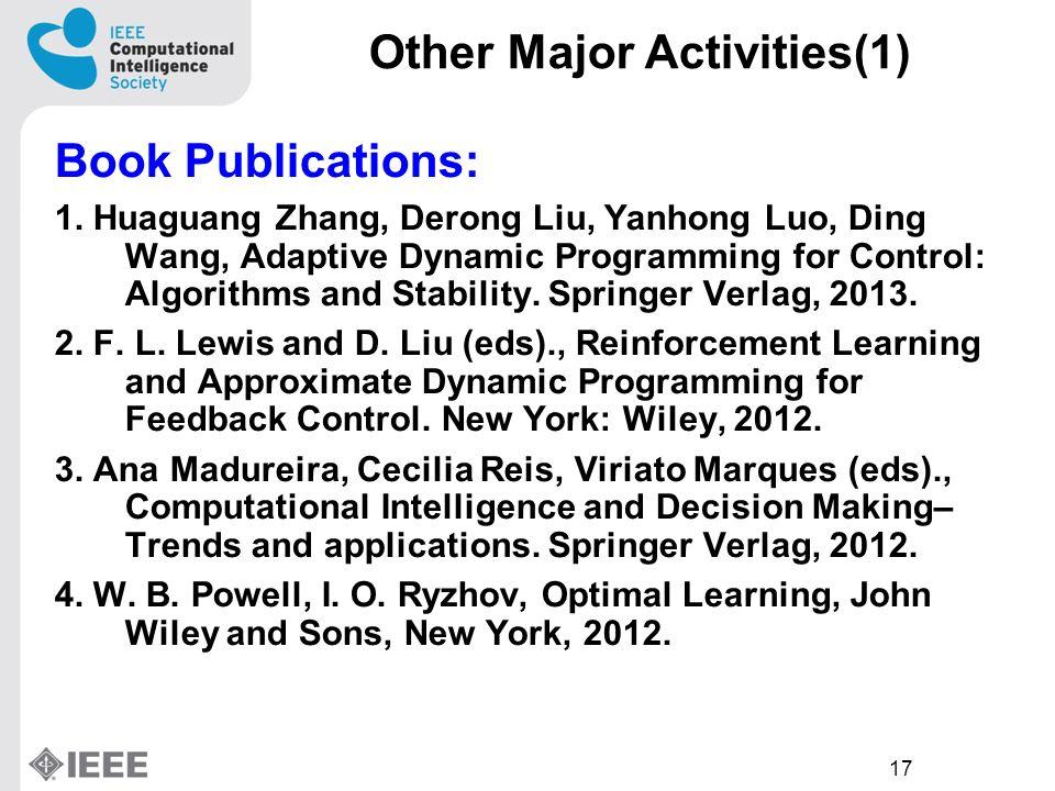 17 Book Publications: 1.