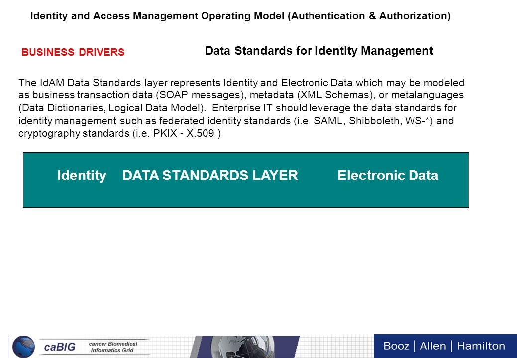 10 Tech Day VI Identity and Access Management Operating Model (Authentication & Authorization) Focused Standardization Integration Maturity TECHNICAL