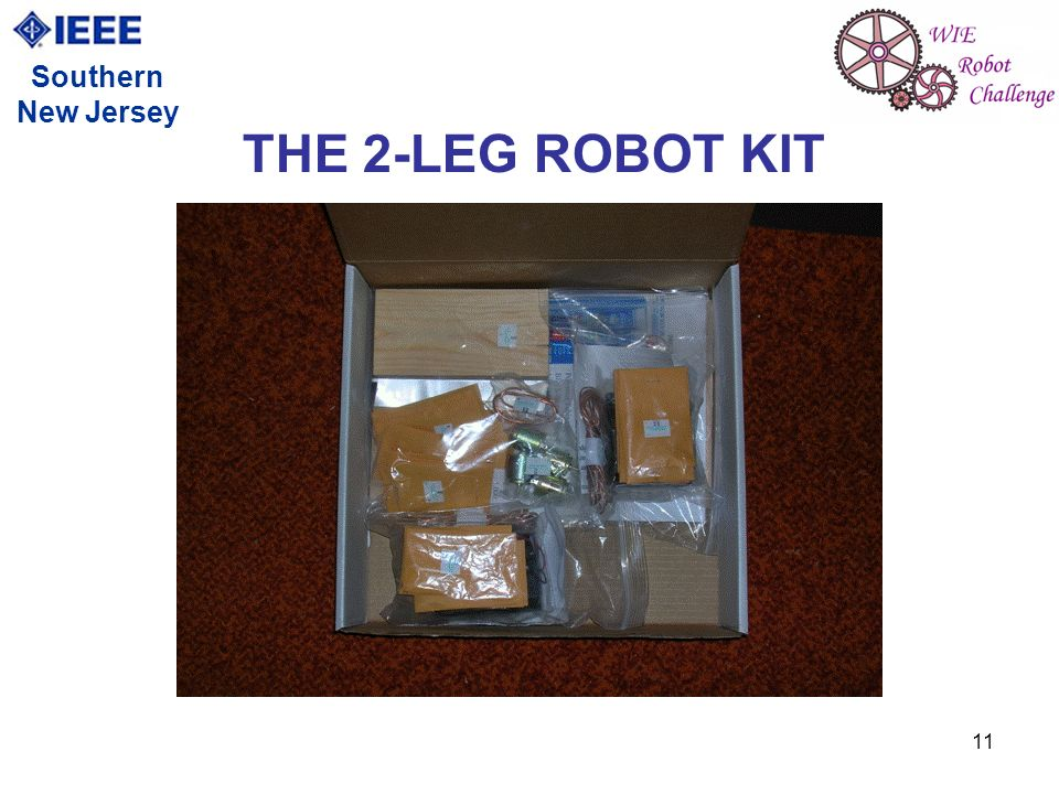 11 Southern New Jersey THE 2-LEG ROBOT KIT