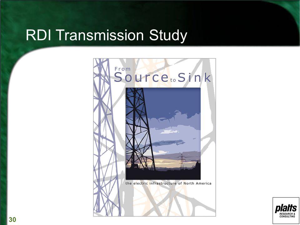 30 RDI Transmission Study
