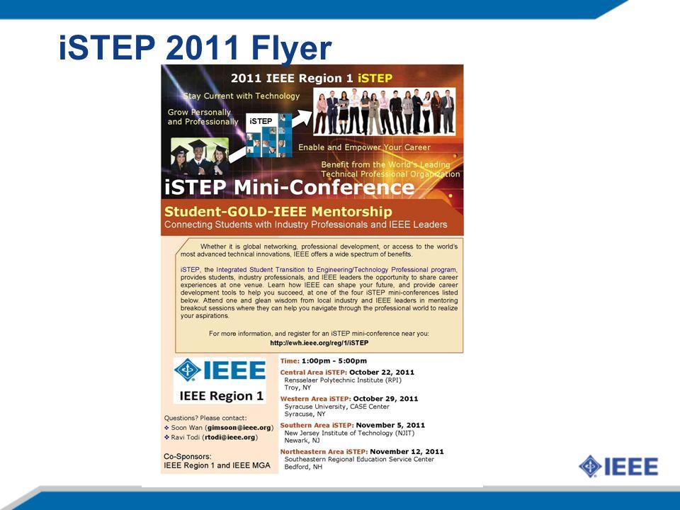 iSTEP 2011 Flyer