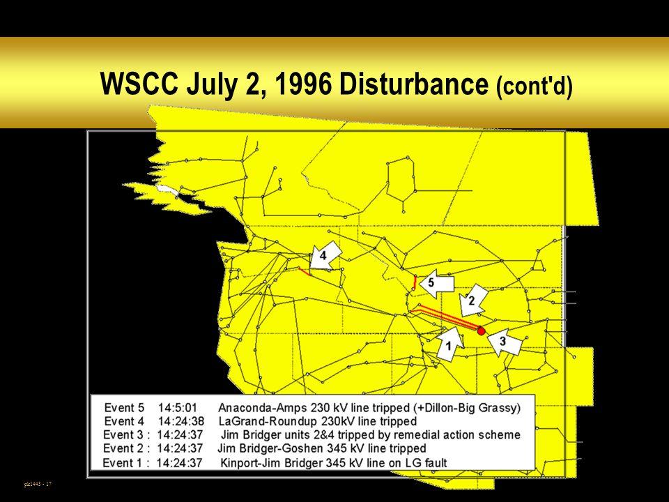 pk1443 - 17 WSCC July 2, 1996 Disturbance (cont d)