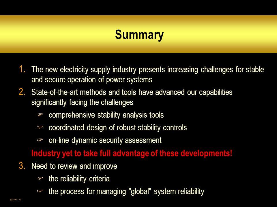 pk1443 - 43 Summary 1.